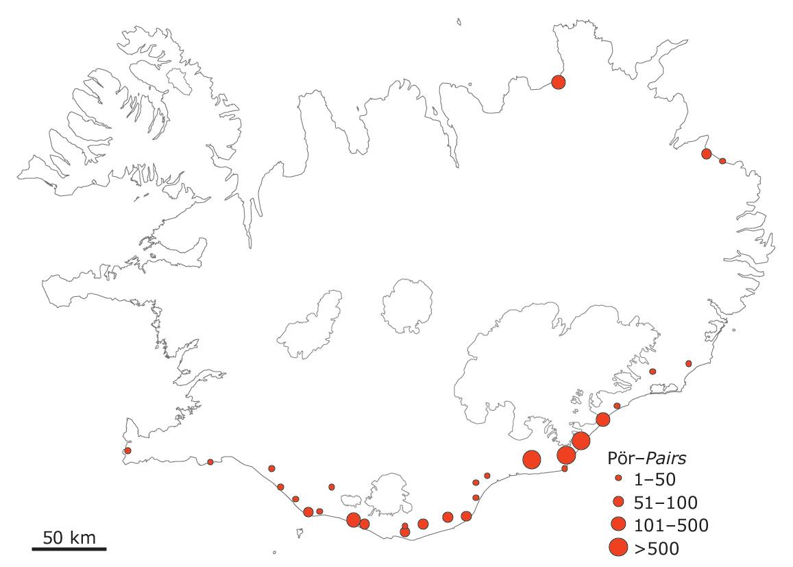 Skúmabyggðir á Íslandi 1984 og 1985